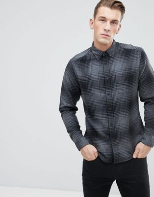 Esprit Regular Fit Brushed Check Shirt