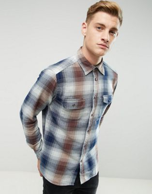 Image 1 of Esprit Shirt In Regular Fit In Heavy Check Cotton
