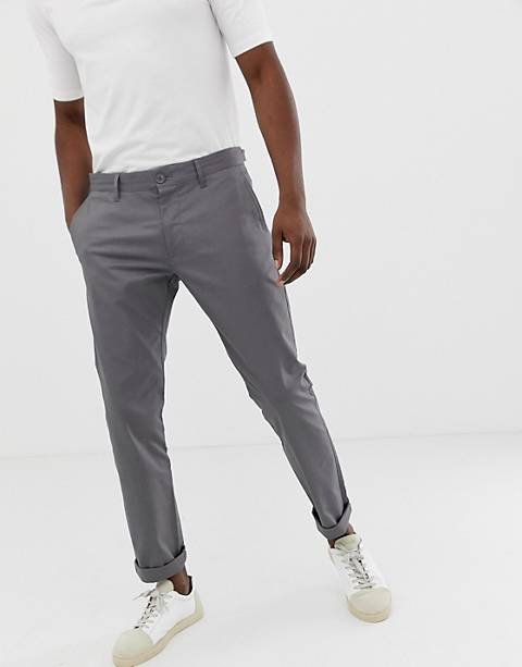 Esprit slim fit chino in gray