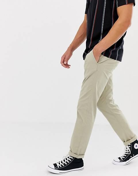 Esprit Slim Fit Chinos In Beige