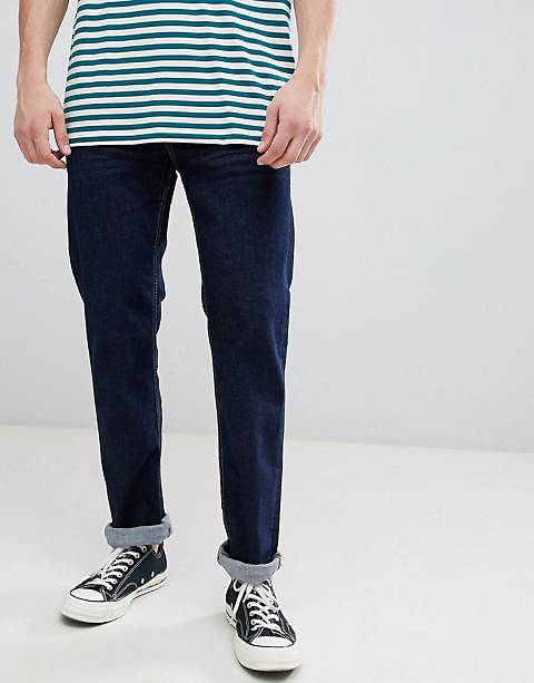 Esprit Straight Fit Jeans In Rinse Wash Blue