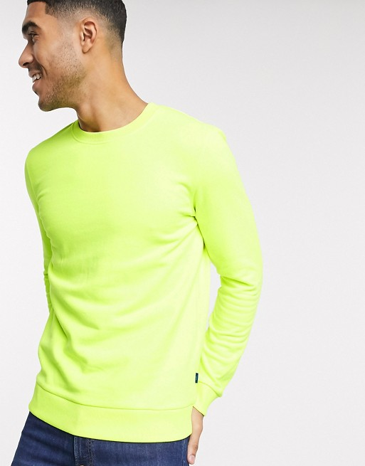 Esprit - Sweat-shirt - Jaune fluo