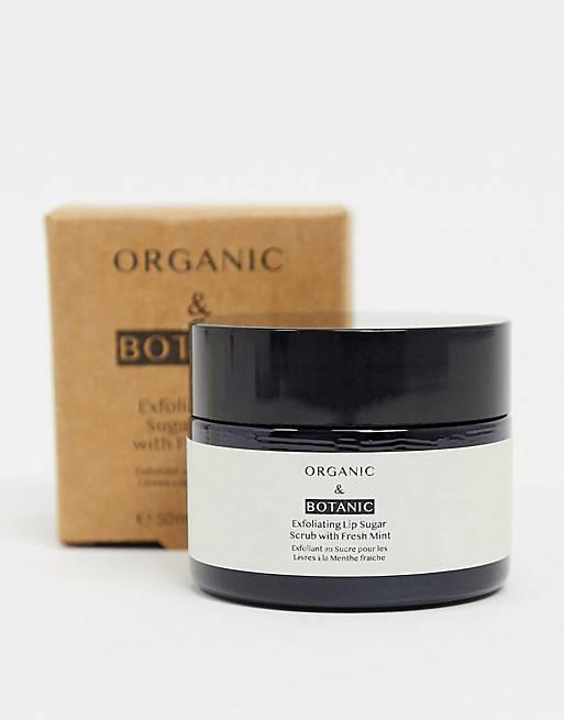 Exfoliante labial muy suave de Organic & Botanic: 50 ml