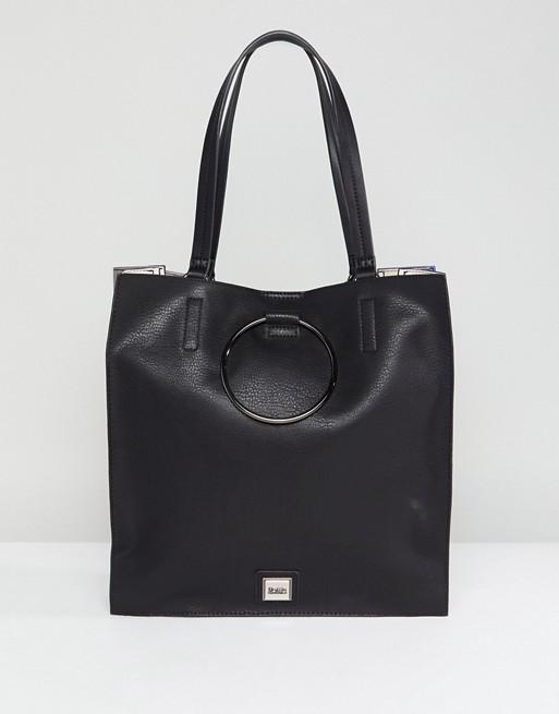 Faith Circle Detail Tote Bag