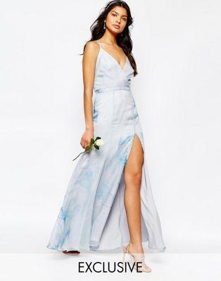 Fame and Partners - Deco Lily - Vestito lungo con fascette sul retro