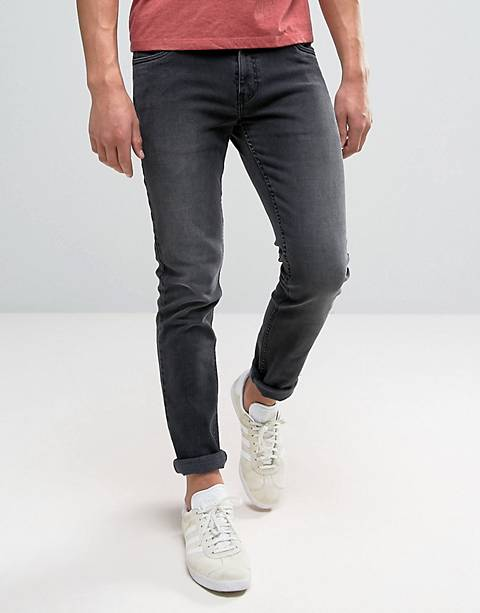 Farah Drake slim fit jeans in charcoal