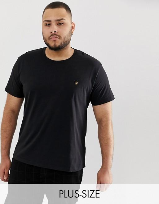 Bild 1 av Farah – Farris – Svart t-shirt i slim fit