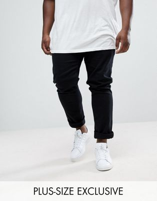 Farah PLUS Drake Slim Fit Jean In Twill