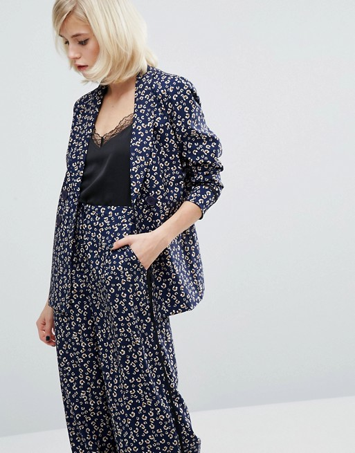 Fashion Union Printed Blazer Co-Ord