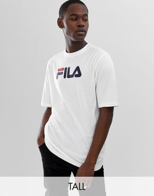 Fila Tall Eagle t-shirt with large logo in white