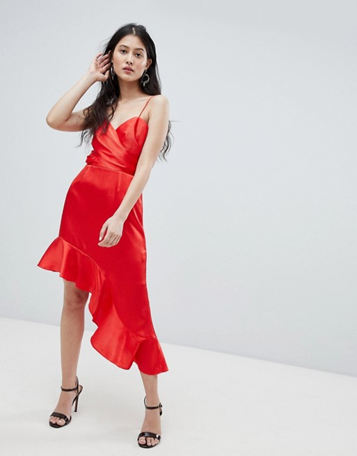 Finders asymmetric cami dress