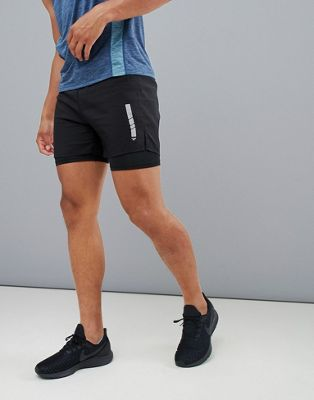 FIRST 2-In-1 Hardloopshorts