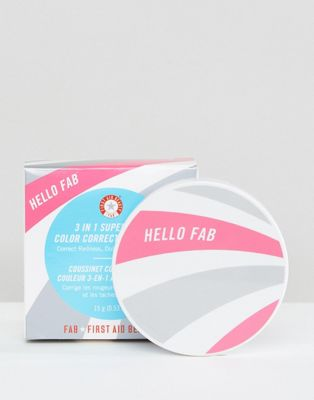 First Aid Beauty 3 in 1 Superfruit Colour Correcting Cushion