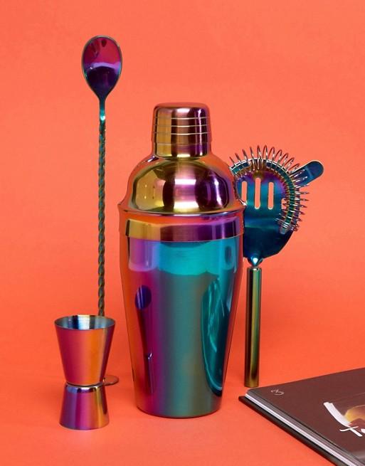 Fizz Iridescent Cocktail Set