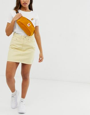 Image 1 of Fjallraven Bershell bum bag in mustard