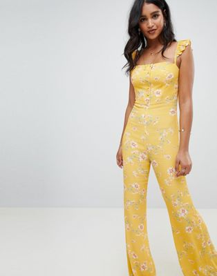Flynn Skye bloom print jumpsuit