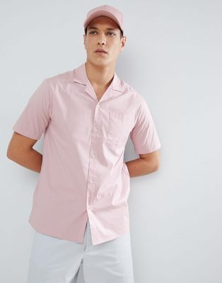 Image 1 of FoR Bowling Shirt In Pink