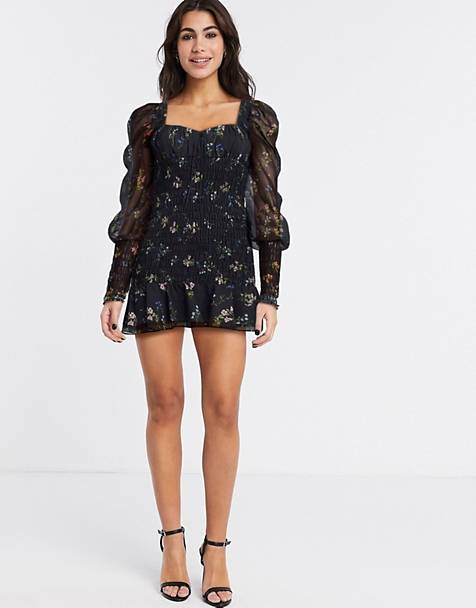 For Love and Lemons dixon mini dress