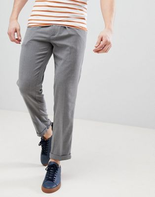 FoR - Pantalon court habillé - Gris