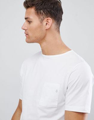 FoR T-Shirt With Pocket Detail In White