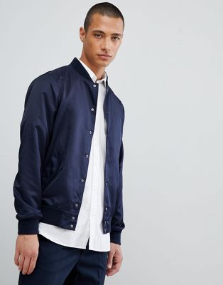 FoR Varsity Jacket In Navy