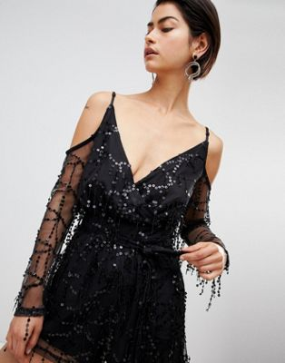 Image 1 of Forever Unique Sequin Playsuit