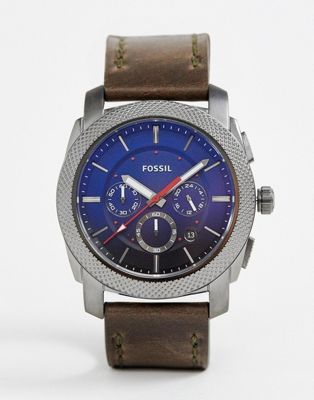 Fossil FS5388 Men's Chronograph Leather Watch