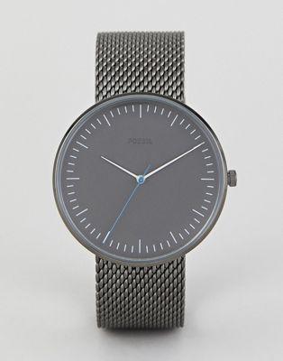 Fossil FS5470 - Essentialist horloge met mesh 42mm