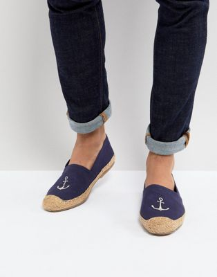 Frank Wright Embroided Espadrilles