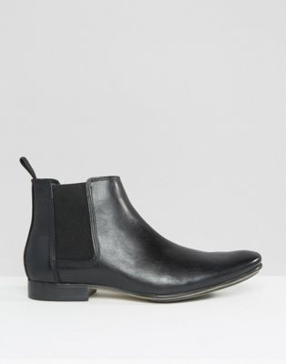 Frank Wright Leather Chelsea Boots