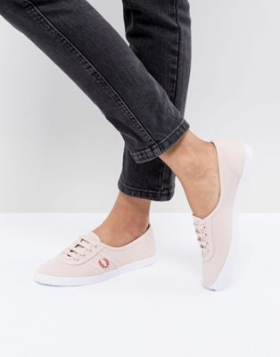 Fred Perry Aubrey Colour Plimsolls
