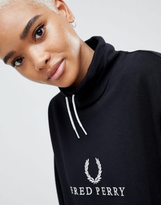 Fred Perry Wreath Logo Hooded Dress