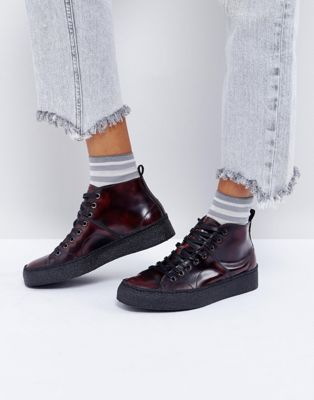 Fred Perry x George Cox – Creeperboots