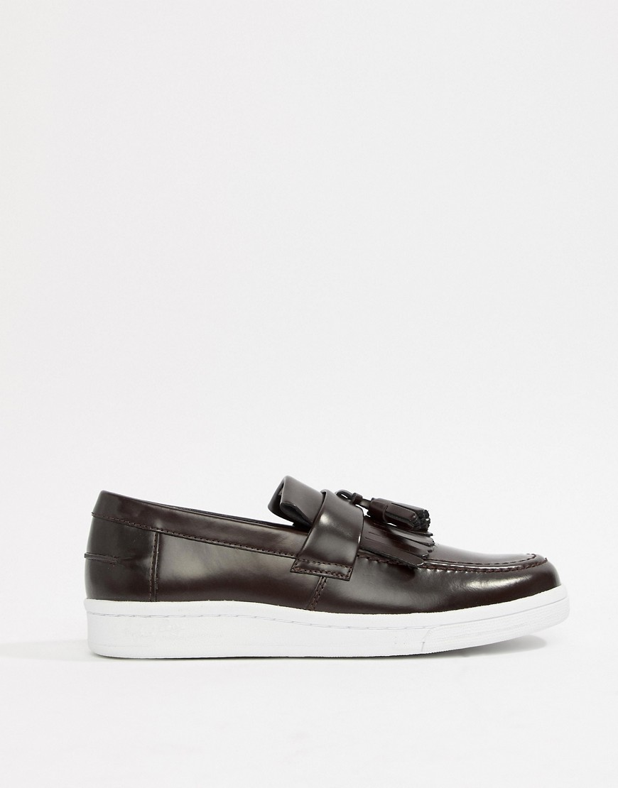 Fred Perry X George Cox Tassle Loafer by Fred Perry