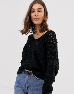 Image 1 of Free People Best Of You crochet knit jumper
