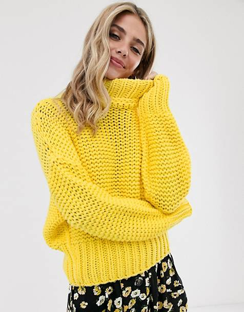 Free People my only sunshine chunky knit sweater
