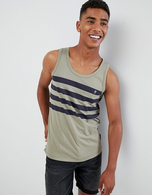 French Connection 4 Stripe Tank