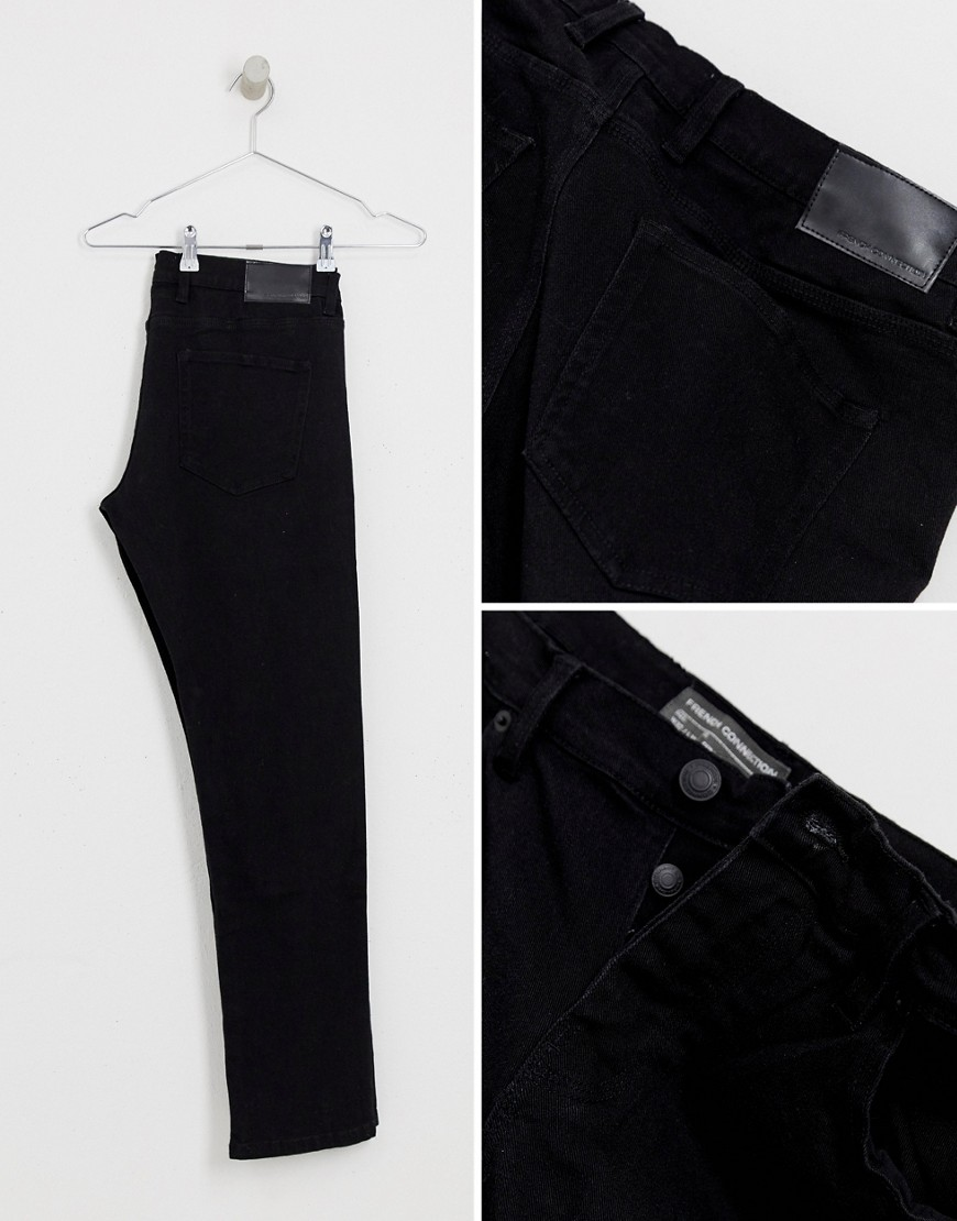 French Connection Black Skinny Stretch Jeans by French Connection