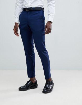 French Connection – Kostymbyxor för bröllop med smal passform