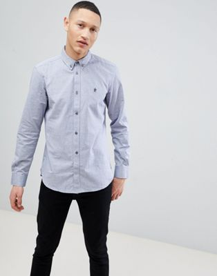 French Connection Long Sleeve Oxford Shirt