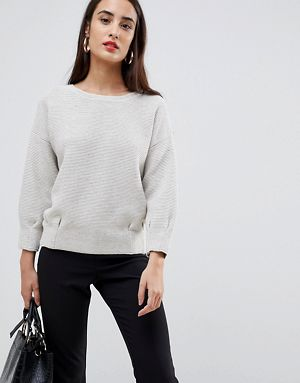 787b4213c34889 ... French Connection Mozart Pleated Jumper promo codes d7859 600dc  cozy  knit ...