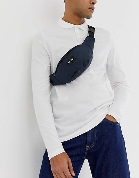 French Connection Nylon Fanny Pack