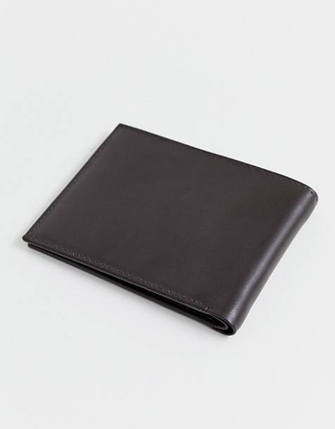 French Connection premium leather bifold wallet