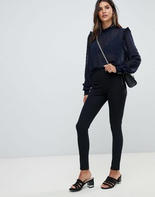 Image 1 of French Connection Skinny Stretch Twill Trousers