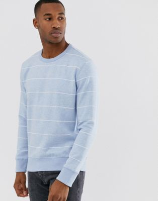 French Connection striped crew neck sweatshirt