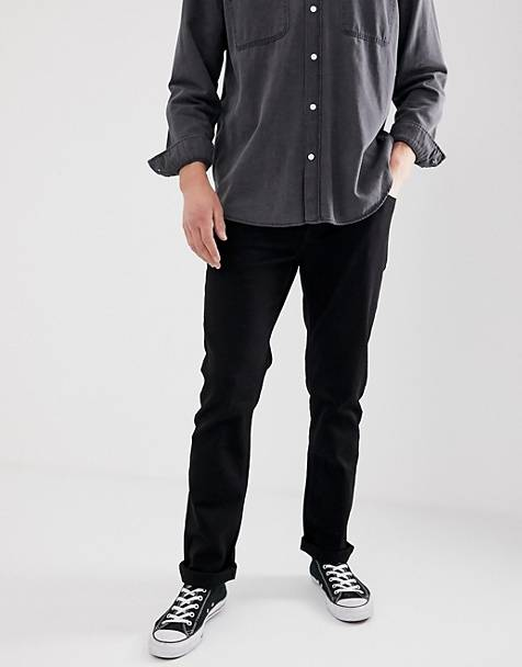 cb09592be76d French Connection – Svarta slim jeans
