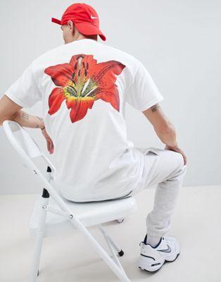 Bild 1 av French Montana – Flower – Vit t-shirt med tryck på ryggen