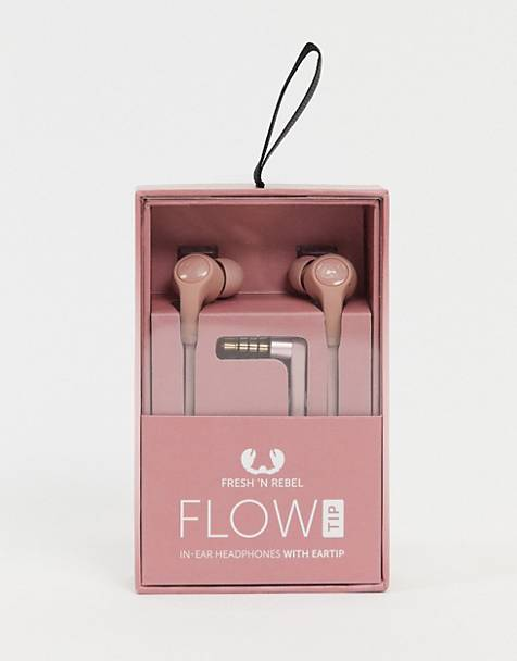Fresh n Rebel – Flow – Kopfhörer in Rosa