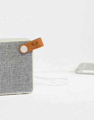 Fresh N Rebel - Rockbox Slice Fabric Edition - Speaker bianco