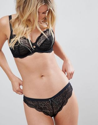 Freya Fancies Lace Brazilian Brief